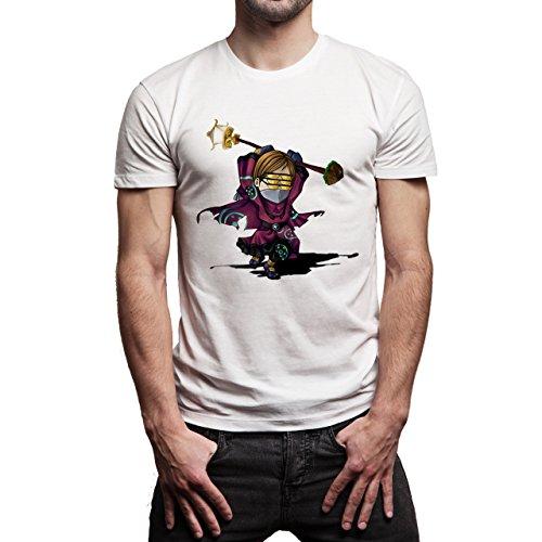 League Of Legends Champion Character Art Jax Fan Herren T-Shirt Weiß