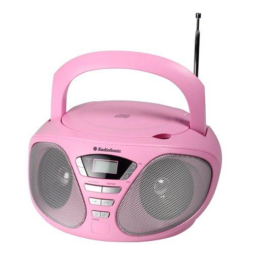 AudioSonic CD-1567 Stereo Radio - Radio CD (Digital, FM, PLL, Player, CD, 6 W, LCD)