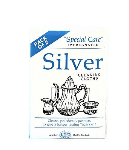 2 panno in gioielli smalto Panni significa l'argento di mantenere per panni detersivo pulizia pulire argento x lucidare lucidatura pulito