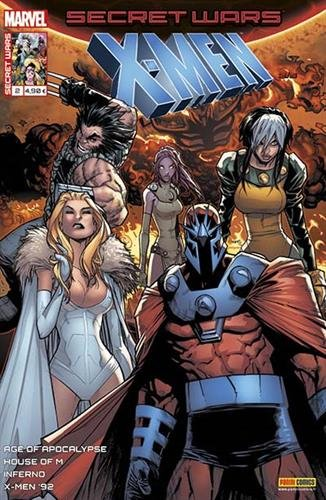 Secret wars : X-men 2
