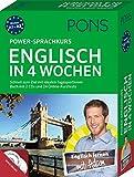 PONS Power-Sprachkurs Englisch in 4 Wochen: Schnell zum Ziel mit idealen Tagesportionen. Buch mit 2 CDs und 24 Online-Kurztests