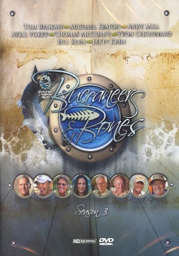 Preisvergleich Produktbild Buccaneers & Bones Season 3 (1-1 / 2 hour Bahamas Fly Fishing)