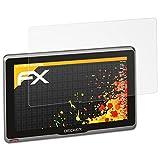 atFoliX Schutzfolie für Becker Active.7S EU Displayschutzfolie - 3 x FX-Antireflex blendfreie Folie
