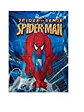 Marvel Comics - Fleecedecke Kuscheldecke - The Amazing Spiderman - 100% Polyester - 130 x 170 cm