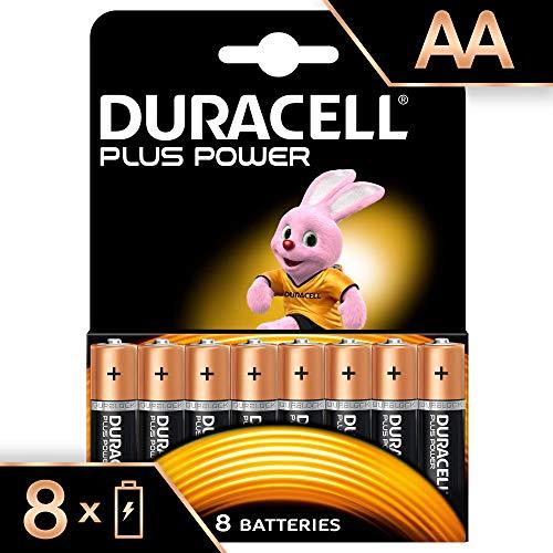 Duracell Plus Power Typ AA Alkaline Batterien, 8er Pack -