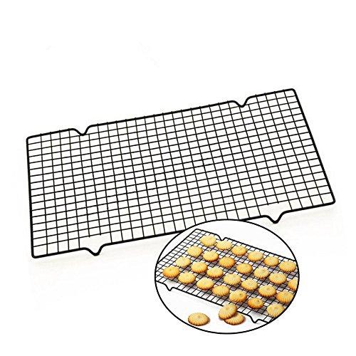 Plat Firm Rostfreies Kühlgitter-Backblech Antihaft-Stahlbacken & amp; Gebäckregal für Keks/Cookie / Pie/Brot / Kuchen Backen Rack heißer 405x255x16