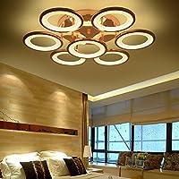 Cosa Simple moderno salón iluminación LED Lámpara de techo redondo personalidad creativa luces Dormitorio Hall