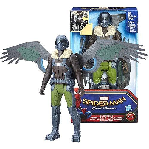 MA SOSER Marvel Legends Spiderman Bösewicht Geier Action Figure 12 Zoll, Geier Boys Geschenk Spielzeug, geeignet für Kinder ab 4 Jahren