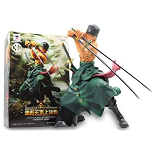 One Piece Scultures BIG molding king SPECIAL RORONOA. ZORO Roronoa Zoro molding king showdown at the summit Banpresto (japan import) 3