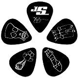 Planet Waves 1CBK2-10JS Guitar Pick Joe Satriani Sign