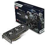 Sapphire 11244-00-20G AMD Radeon R9 390 Nitro Grafikkarte (2x PCI-e, 8GB GDDR5 Speicher, DVI, HDMI, DisplayPort,)