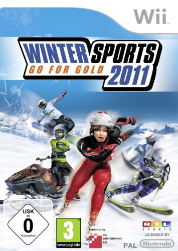 Winter-wii-spiele (Winter Sports 2011 - Go for Gold)