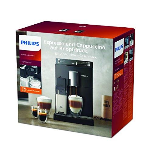 Philips EP3550/00 Kaffeevollautomat (Milchkaraffe, AquaClean) schwarz