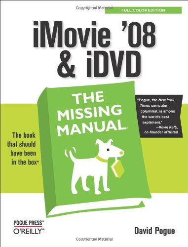 iMovie '08 & iDVD: The Missing - Manual Missing Ios 8
