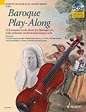 Partitionen Klassische Schott Barock play-along–VIOLIN VIOLINE