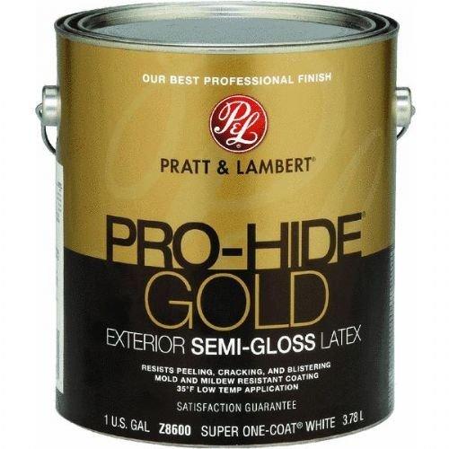 pratt-lambert-pro-hide-gold-semi-gloss-latex-exterior-house-paint-ext-s-g-whit