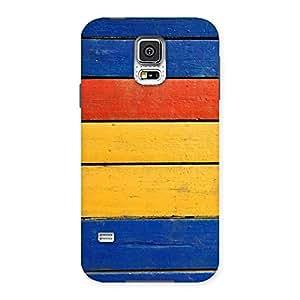 Stylish Wood Decks Back Case Cover for Samsung Galaxy S5