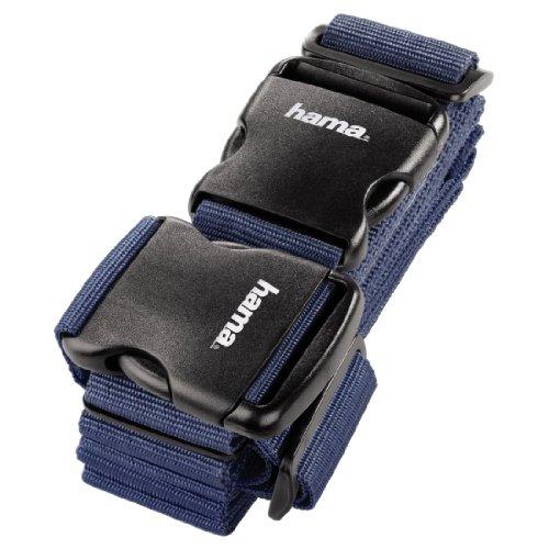 Hama - Correa de seguridad para equipaje (2 unidades, 5 x 200 cm / 5 x