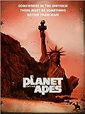 Posterlounge Cuadro de Aluminio 120 x 160 cm: Planet of The Apes Retro Style Movie Inspired de 2ToastDesign