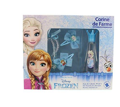 Corine de Farme - Coffret Disney Princesses - Frozen Eau de Toilette + 2 Barrettes + Bague + Bracelet 30 ml