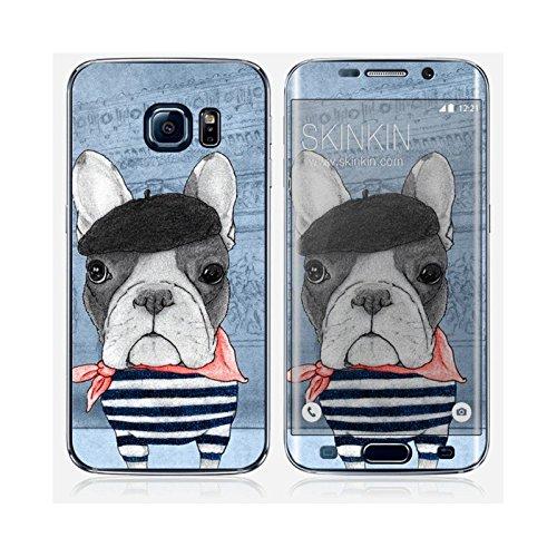 Coque iPhone 6 Plus et 6S Plus de chez Skinkin - Design original : French Bulldog in Arc de triomphe par Skin Samsung Galaxy S6 Edge