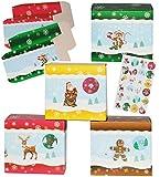 alles-meine.de GmbH Weihnachtskalender -  lustige Weihnachts - Motive  - 24 Stück Boxen / Schach..