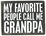 Best Grandpa Sign - Primitives by Kathy Box Sign, 5 by 4-Inch Review
