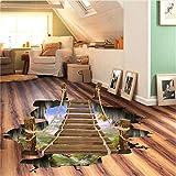 Cczxfcc 90X60 Cm 3D Wirkung Fenster Einhorn Pferd Wandaufkleber Für Kinderzimmer Wohnzimmer Schlafzimmer Wandtattoo Kunst Poster Sofa Wand Decor