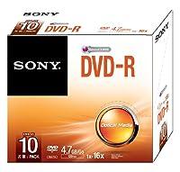 Sony DVD-R 4.7Gb Slim Case Pack of 10 10DMR47SS