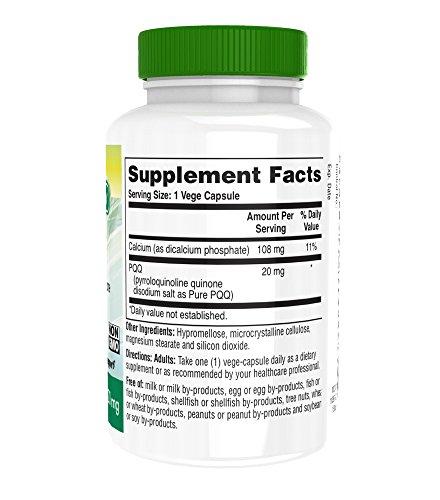 Zoom IMG-2 health thru nutrition pqq 20mg