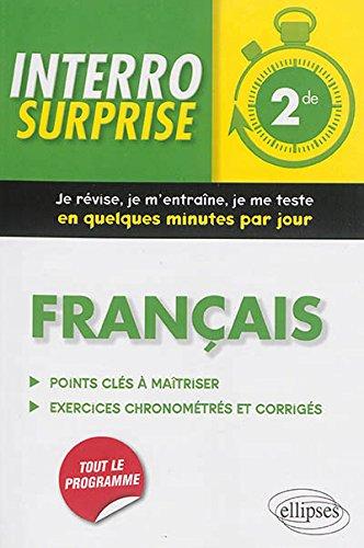 Interro Surprise Français Seconde