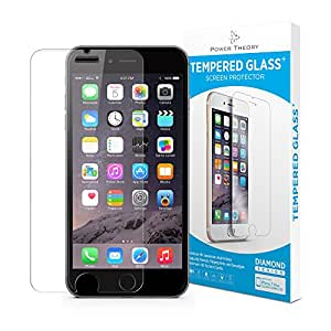 iPhone 7/8 Screen Protector [2-Pack] Premium Tempered Glass Screen Protectors with Easy App Install Kit for Apple iPhone7/iPhone8 by Power Theory