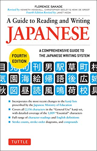 A Guide to Reading and Writing Japanese: Fourth Edition, JLPT All Levels (2,136 Japanese Kanji Characters) [Idioma Inglés]