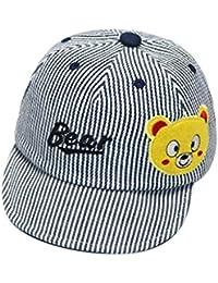 4a157b3584540 QUICKLYLY Sombreros Gorras Sombreros del Bebé Sombrero Suave De Algodón  para El Sol BéIsbol Boina