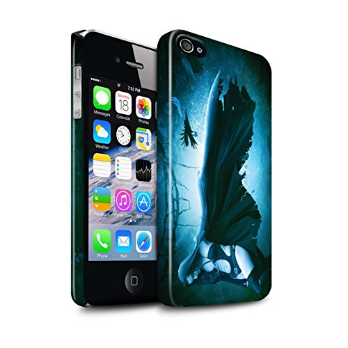 Officiel Elena Dudina Coque / Clipser Brillant Etui pour Apple iPhone 4/4S / Pack 6pcs Design / Magie Noire Collection Vent/Orage/Forêt
