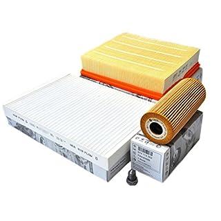 Original Passat 3BG TDI Inspektionspaket Motor Service KIT Filter Öl Pollen Luftfilter
