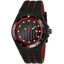 TechnoMarine TM-115219 - Reloj de pulsera hombre, Silicona, color Bicolor
