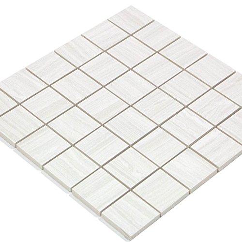 Mosaik 48x48x8mm Silber