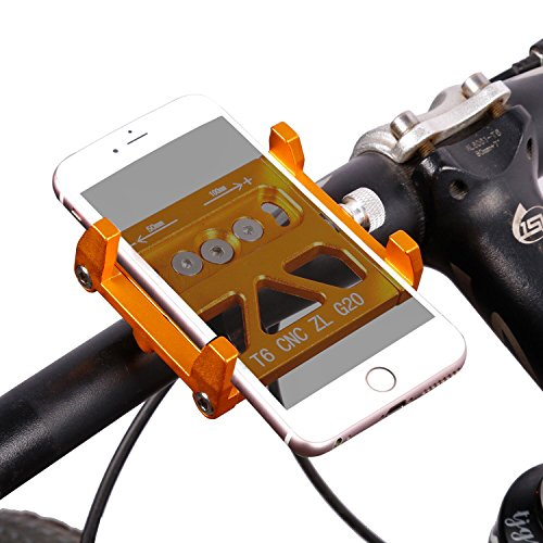 Bicycle Phone Holders, West Biking Bike Mount for Mountain Road Handlebar  Accessories Fits IOS iPhone 7 Plus 6s Android Galaxy S7 S6 S5 Smartphone