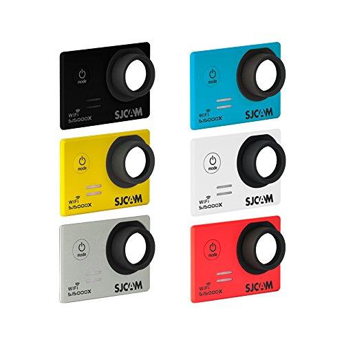 SJCam 6 Faceplates Kit SJ5000X ELITE Custodia per SJCam SJ5000X ELITE, 6 Pezzi, Multicolore [Versione EU]