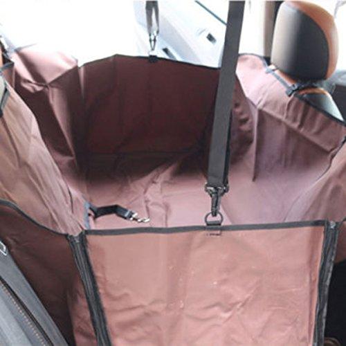 Sumchimamzuk Universal Hunde Autositzbezug Autoschutzdecke Wasserdicht Oxford Kratzfest Waschbar Haustier Autositz Abdeckung Schondecken 160cm x 140cm