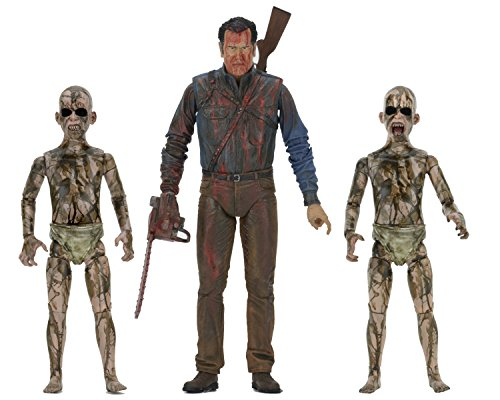 Ash vs. Evil Dead 41949 Bluetooth Bloody Ash Vs Demon Spawn Figur (Pack von 2)