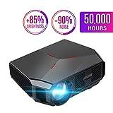 Projecteur multifonction Full HD 1080p Enceinte à film double choc compatible avec...