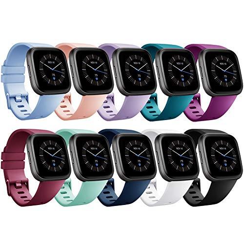 Onedream Compatibile con Fitbit Versa Cinturino/Versa Lite/Versa 2 Cinturino Silicone Donna Uomini -...