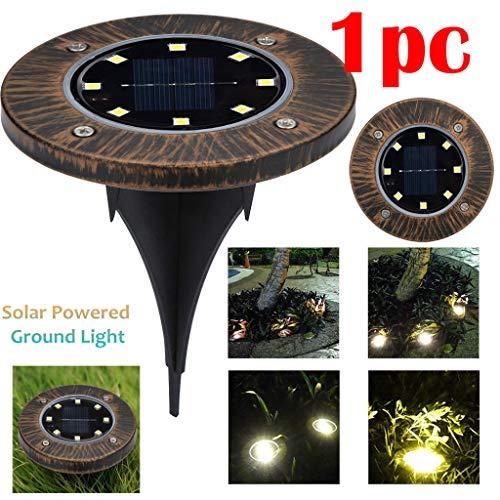 TianranRT Solar LED Outdoor Weg Licht Spot Lampe Hof Garten Rasen Landschaft Wasserdicht