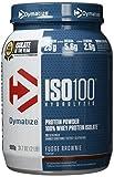 Dymatize Whey Protein Hydrolysat + Isolat – Premium Eiweißpulver – Protein Shake/900 g Fudge Brownie