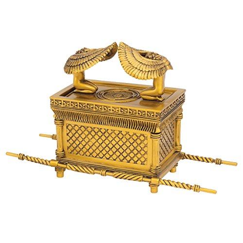 Religiöses Geschenk Schmuckschachtel - Die Arche des Bundes Jewelry Box - Ägyptische Statuen