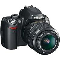 Nikon D60 Digital SLR Camera - Black (AF-S DX Nikkor 18-55 mm f/3.5-5.6G VR) (discontinued by manufacturer)