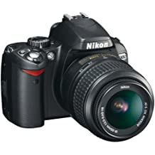 Nikon D60 - Cámara Réflex Digital 10.2 MP (Objetivo DX VR 18-55 mm)
