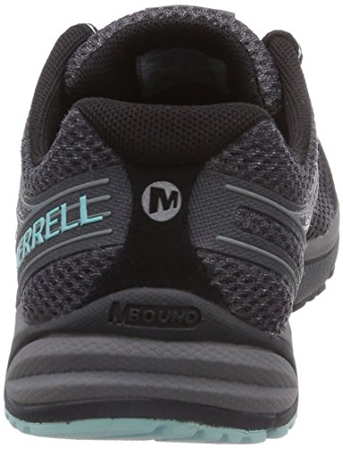 Merrell - Bare Access Arc 4, Scarpe Da Corsa da donna Multicolore (Black/Adventurine)